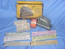 Martin Lucas caméra Super Mini CINE FILM et toujours projecteur avec diapositives