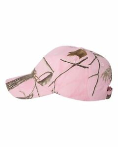Kati Cap Realtree AP Snow Mossy Oak Break Up Blaze Camo Camouflage Baseball Hat