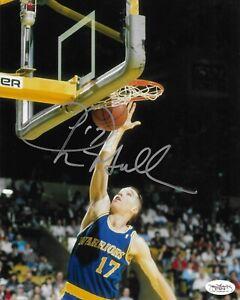 Chris Mullin Signed 8x10 Photo Autographed JSA COA Golden State Warriors HOF