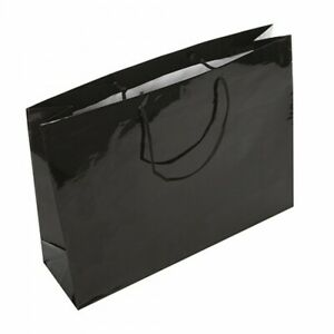 SALE! Luxury Boutique High Gloss Gift Bag Rope Handles Baby Wedding Paper Bags