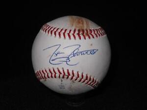 Chicago White Sox Tyler Flowers Signed OML Mike Moore Autograph Baseball  614