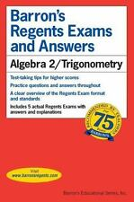 Barron's Regents Exams and Answers Bks.: Algebra 2/Trigonometry by Meg Clemens,