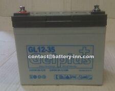 Batterie GEL 12v  35Ah  Camping Car a décharge lente,1300 Cycles
