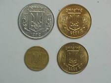 UKRAINE 4 different COINS