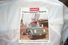 Showroom brochure 71 GMC 4500- 6500 69 70 71 72 NOS GMC Big trucks 11/2 to 2 ton