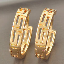 Kids Toddler Womens Fashion Rose Gold Plated Tiny Huggie Hoop Earrings For Teen