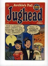 Archie's Pal Jughead 4 GD/VG 1951 seduction cover-as if!