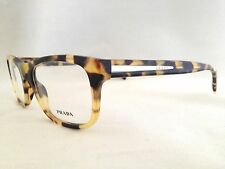New Authentic Prada VPR19P 7S0-1O1 Havana 53mm Eyeglasses RX Italy Serial#