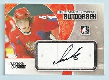 ALEXANDER OVECHKIN 2007/08 IN THE GAME HEROES & PROSPECTS RC AUTOGRAPH AUTO
