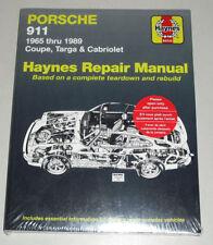 Reparaturanleitung Porsche 911 2.0 / 2.2 / 2.4 / 2.7 / 3.0 / 3.2 liter, 1965-89