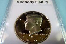 "2005-S   KENNEDY  ""S-PROOF""  HALF  DOLLAR, San Francisco Mint in Display Case"
