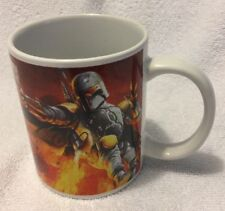 Star Wars Galerie Boba Fett and Han Solo Coffee Cup 2011 Lucasfilm