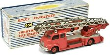 DINKY SUPERTOYS 956  * BEDFORD TURNTABLE FIRE ESCAPE  * OVP * ORIGINAL