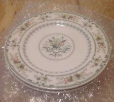 4 Royal Doulton Provencal Pattern Salad Plates
