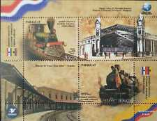 O) 2018 PARAGUAY, JOINT ISSUE WITH  ECUADOR -STEAM LOCOMOTIVE TIPE BALDWIN -CENT
