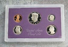 1987  United States US Mint 5pc Clad Coin Proof Set