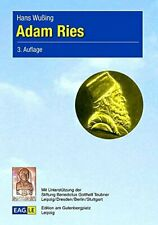 Adam Ries by Wuing, Hans  New 9783937219332 Fast Free Shipping,,