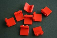 LEGO Supports x 7 rouges 1x2  Lot BBB