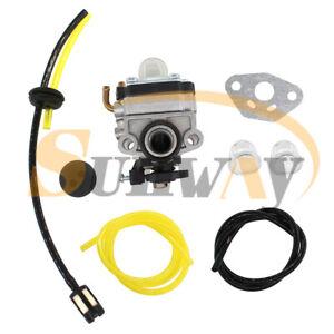 Carburateur Tuyau Kit pour GX31 GX22 Tondeuse 16100-ZM5-803, GCA91 WX10