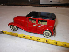 Antique Tin Penny Toy Car Automobile Limousine