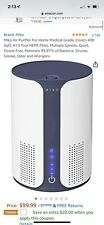 Miko Ma-01Cw Air Purifier with Hepa Filter