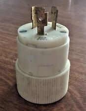 Bryant Hubbell 70620-NP Nylon Male Plug 20A 250V NEMA L6-20
