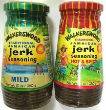 Walkerswood Jerk Seasoning Authentic Jamaican Flavor Original & Mild 10oz