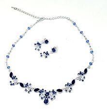 Wedding Necklace Earrings Jewelry Set, Bridesmaid Jewelry