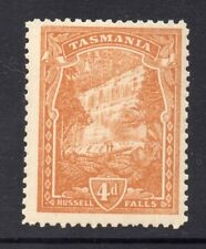 New listing Tasmania: 4d Pictorial Shade? Sg 247 Perf 11 Ca Wmk Upright Mh And Scarce!