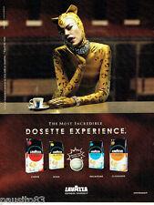 PUBLICITE ADVERTISING 046  2007  Café Lavazza  en dosettes