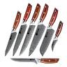 KENSAKI Einzelne Küchenmesser aus Damast |Damaszener Stahl - Style: Japan Messer