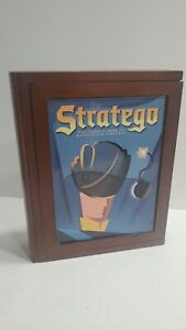 Stratego Book Shelf Edition Vintage Collection Strategy Board Game Wood Target