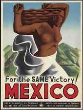 Letrero De Metal México aire tren viajar Cartel M4 A4 12x8 Aluminio Retro Vintage Sty