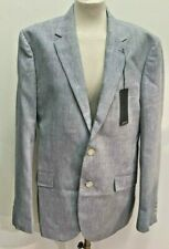 "Mens Size 42"" Reg M&S Grey Summer Jacket Labels Attached"