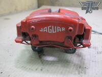 09-11 JAGUAR XF X250 4.2L SUPERCHARGED REAR LEFT BRAKE CALIPER RED OEM