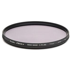 77mm Kenko PRO1 Digital Circular Polarizing Filter CPL C-PL  Made in Japan 77 mm
