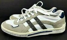 Skechers Relaxed Step White Leather Casual Sneaker Lace Up Mens US 10.5 RN 61959