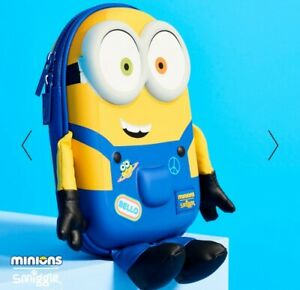 LIMITED EDITION! SMIGGLE 3D Hardtop Character Pencil Case,  Minions
