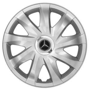 16'' Wheel trims Hub Cups fit Mercedes Vito Sprinter 4 x 16'' silver