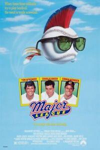 MAJOR LEAGUE vintage movie poster TOM BERENGER CHARLIE SHEEN baseball 24X36