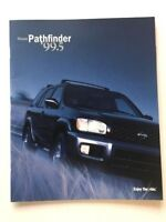 1999 2000 Nissan Pathfinder 34-page Original Sales Brochure Catalog
