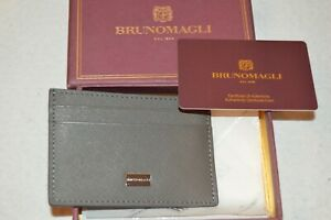 BRUNO MAGLI Man's Credit Card Holder NEW  3in x 4in  Retail Value $140