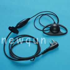 Economy 2-Pin D Style Shape Headset Ear Pieces Earphone For ICOM Two Way Radio