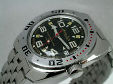 RUSSIAN  VOSTOK AUTO AMPHIBIAN AMFIBIA  WATCH #710335b NEW