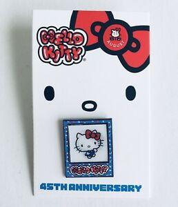 New Sanrio Hello Kitty Friend Of The Month Pin AUGUST 2019 45th Anniversary