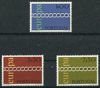 Portugal CEPT Nr. 1127 - 1129 postfrisch Europa Michel 30,00 € MNH