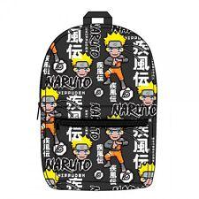 Naruto Sublimated Backpack Bag Bookbag Pixel Anime Ninja Shippuden BQ4MHUNAR