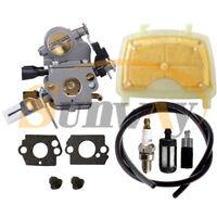 Carburateur + Filtre à Air pour Stihl MS171 MS181 MS201 MS211 Remp ZAMA C1Q-S269