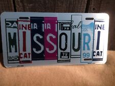 Missouri License Plate Art Wholesale Novelty Bar Wall Decor