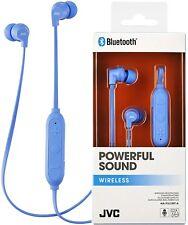 JVC ha-fx21bt BLEU PUISSANT Son Bluetooth sans fil Écouteurs intra-auriculaires